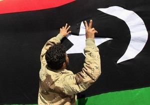 Ливийский Нацсовет отправил в отставку правительство повстанцев