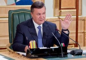 Янукович призвал церковь не вмешиваться в избирательный процесс