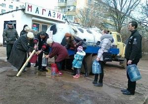 Сегодня подача воды в Евпаторию полностью прекратится