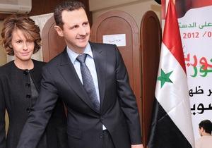 Асад не просил у России убежища
