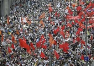Пресса России: Марш миллионов - от 18 до 200 тысяч