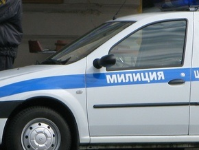 В Москве автомобиль с милиционерами врезался в столб