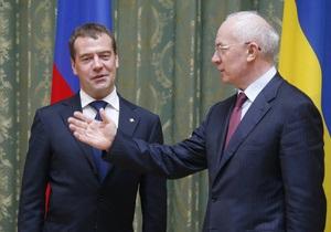 Азаров позвонил Медведеву, чтобы поздравить с днем рождения