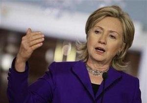 Клинтон не видит кризиса в отношениях между США и Израилем