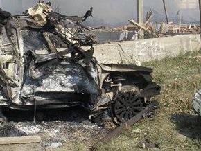 В Назрани неизвестные взорвали легковой автомобиль: есть погибшие