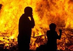 Ущерб от пожаров за прошлые сутки в Украине составил более 5,5 млн грн