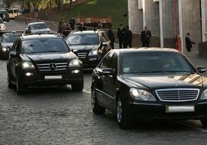 Бютовцы предлагают Раде запретить перекрытие дорог для проезда кортежа руководства страны