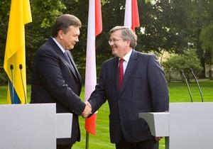 Янукович видит в ЗСТ с ЕС инструментом для улучшения состояния экономики Украины