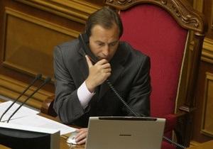 Полномочия Черновецкого заканчиваются в июне. Томенко требует назначить дату выборов мэра