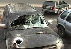 В Одессе подожгли джип жены начальника МРЭО города