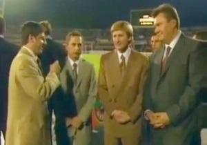 2002 год. Денисов берет интервью у Ахметова, Януковича и Колесникова