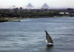 В Египте столкнулись два плавучих отеля