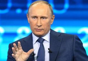 Путин сказал россиянам, что любит Украину