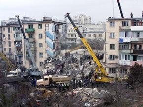 В Евпатории в подвале взорвавшегося дома обнаружены 11 баллонов