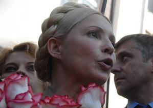 Тимошенко: Сегодняшний суд - это расправа Януковича