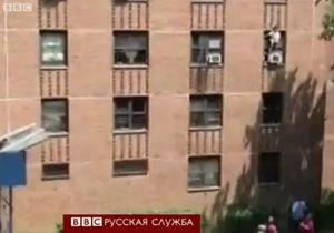 Девочка-аутистка спрыгнула с третьего этажа