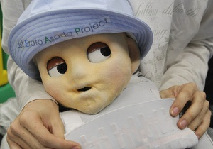В Японии создали робота-младенца