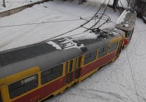 КГГА: Износ подвижного состава трамваев в Киеве достигает 90%