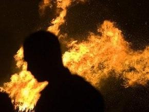 На штрафплощадке в Москве сгорели почти 30 машин