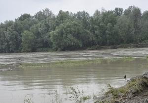 В результате оползня в Ивано-Франковской области поврежден подземный газопровод