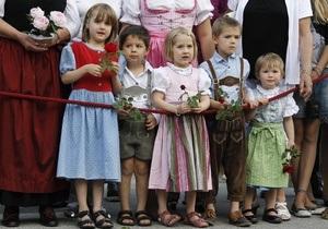В Германии родители каждого третьего ребенка являются иммигрантами