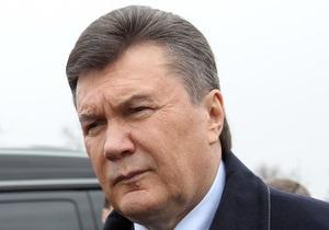 Янукович: Украина будет увеличивать объемы строительства дорог