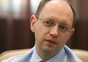 Яценюк рассказал о своих ошибках во время избирательной кампании