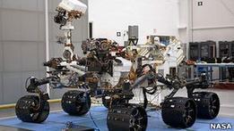 NASA запускает марсоход нового поколения