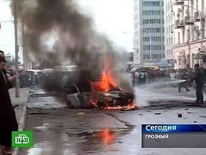 Умер один из милиционеров, пострадавших при теракте в центре Грозного