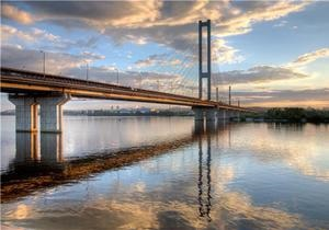Киев намерен реконструировать транспортный узел возле Южного моста