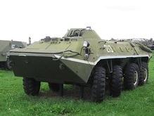 В Одесской области задержали два БТРа