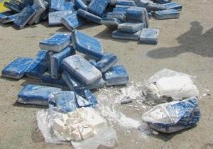 Рекордную партию кокаина на $77 млн перехватили в Гонконге