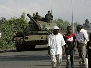 Повстанцы Конго объявили о прекращении огня