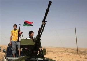 Переговоры между повстанцами и силами Каддафи провалились