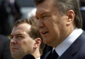 Источник: Янукович и Медведев в Сочи обсудят арест Тимошенко