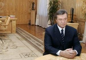 Янукович уволил всех глав райадминистраций Киева