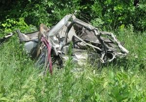 В ДТП в Луганской области погибли четверо человек