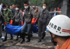 При взрыве на китайской шахте погибли десять горняков