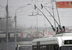 Пьяный россиянин угнал троллейбус
