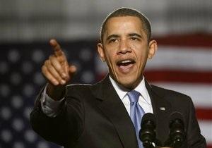 Обама намерен склонить на свою сторону избирателей в  колеблющихся  штатах США
