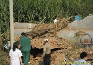 В Китае разбился северокорейский военный самолет
