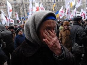 Фотогалерея: Черновецкому подкинули мелочи