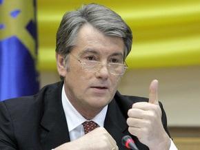 Ющенко поздравил Пугачеву с юбилеем