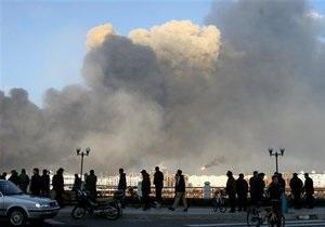 Взрыв - В Китае произошел взрыв на биохимическом заводе, есть жертвы