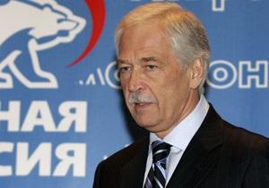 Грызлов назвал указ Ющенко о чествовании Сечевых стрельцов  недружественным шагом