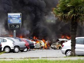 В центре Мадрида взорвался заминированный фургон