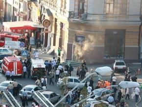 Пожар в киевском кафе ликвидирован