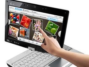 Asus выпустила первый мультисенсорный нетбук