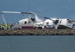 На борту разбившегося в Сан-Франциско Boeing-777 находился 291 человек