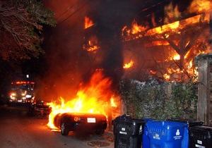 В Голливуде подожгли дом лидера The Doors